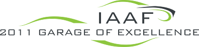 IAAF Garage of Excellence Logo