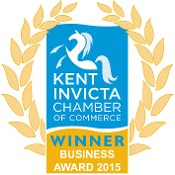 Business of the Year Kent Chamber 2015 Logo
